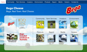Bega Cheese wordpress web design, wordpress web design Melbourne, wordpress, Bega